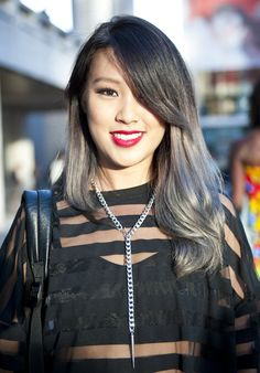 WAIT. This grey ombre totally works!