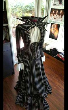 I want this nightmare before christmas jack skellington dress