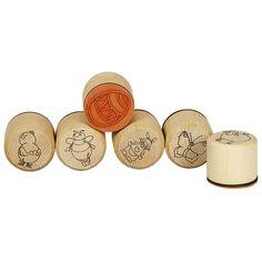 Holzstempel Ostern Für fröhliche Osterkarten, Tischdeko 220098