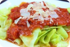 Low Carb Zucchini Noodles Recipe - Simply Stacie