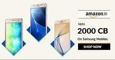Samsung Mobile Fest: Upto 70% OFF on Mobiles at #AmazonIN #Klaimy