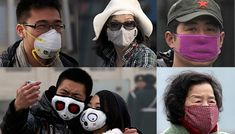 A variety of masks are selling big online in China. Photos: AP, Reuters