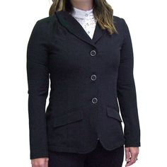 Intrepid International New 2KGrey Technical riding outfit. Stretch Lace show shirt and Hunt Coat. The fit and feel of Luxury at a very competitive price.