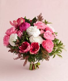 Pink Wedding Flowers | Find the perfect pink bouquet.