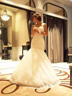 Sweet Hawaii Wedinng ♡ Monique Lhuillier(モニークルイリエ) Wedding dress