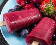Glace à l'eau légère aux fruits rouges : http://www.fourchette-et-bikini.fr/recettes/recettes-minceur/glace-leau-legere-aux-fruits-rouges.html