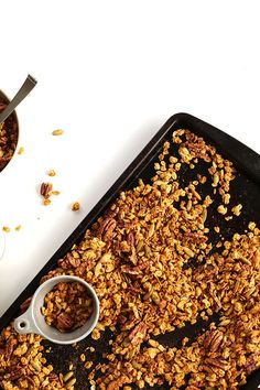 MAPLE PECAN Granola! #vegan #glutenfree