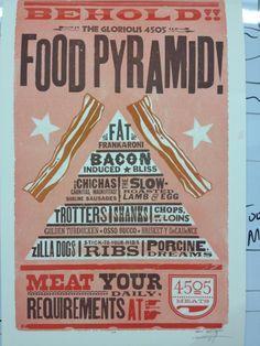 food pyramid :)