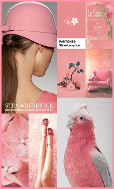 '' Strawberry Ice - Pantone '' by Reyhan S.D.