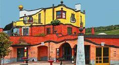 hundertwasser architecture exemple couleurs