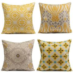Meigar Retro Yellow Flower Decorative Throw Pillow Case Cushion Cover Clearance inch Square Zipper Waist Pillowcase Pillow Protector Slip Cases Sham for Home Bedroom Couch Custom Pillow Cases, Decorative Pillow Cases, Throw Pillow Cases, Pillow Covers, Geometric Throws, Pillow Protectors, Linen Pillows, Cushions, Decoration