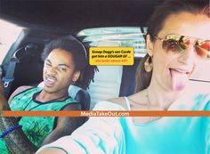 MTO SUPER WORLDWIDE EXCLUSIVE: Snoop Dogg's Son Is DATING A COUGAR . . . And It Looks Like He KNOCKED UP That OLD LADY!!!