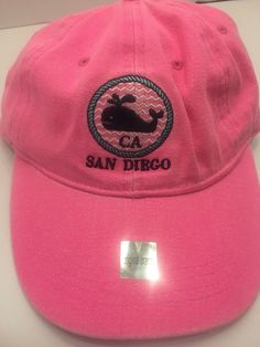 San Diego CA Whale Dad baseball hat cap Adjustable New With Tags  fashion   clothing bc3dc789c063