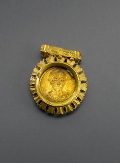 Roman portrait medallion - 3rd century AD. Gold.  | © Foto: Antikensammlung der Staatlichen Museen zu Berlin - Preußischer Kulturbesitz