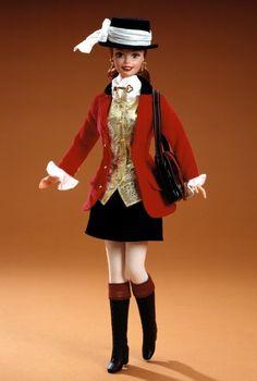 Winner's Circle™ Barbie® Doll   Barbie Collector 1-1-1997 Racing Horses