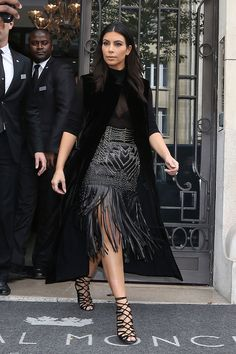Kim Kardashian out in Paris - see her best looks of 2014 on ELLE