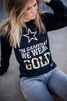 On Gameday We Wear Gold Star Vanderbilt University Anchor Down Vanderbilt Commodores