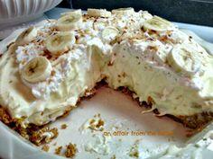 Banana Cream Pie #bananas #cream cheese