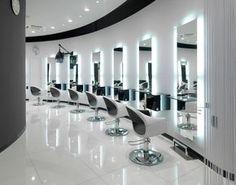 Beauty salon floor plan design layout 283 square foot for Vezzosi arredamenti