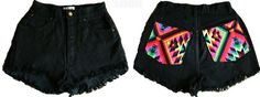 Booty shorts #Boho