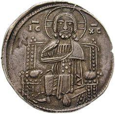 Republik Venedig. Doge Enrico Dandolo (1192-1205). Grosso (ab 1202). Nach. Ø 2,11 cm 2,19 g. Silber.