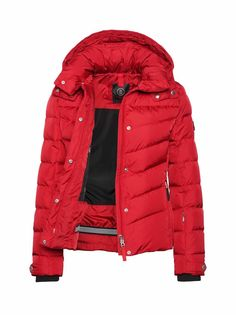 DOWN SKI JACKET SALLY in Red for Women | BOGNER USA