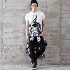 T-shirt z nadrukiem BATMAN, CROPP