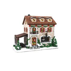 Nicholas Square Village Collection at Kohl's - Shop the wide selection of holiday villages and accessories, including this St. Nicholas Square Village Collection Winter Winery, at Kohl's. Lego Winter Village, Lemax Christmas Village, Christmas Mantels, Christmas Scenes, Christmas Villages, Christmas Home, Christmas Crafts, Christmas Decorations, Lego Village