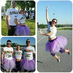 tutus for The Color Run……#purpletulle
