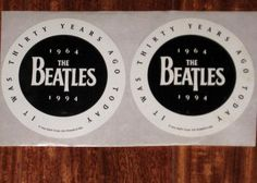 BEATLES 1994 Pair Of It Was Thirty Years Ago Today US Apple Prom [79085] - $6.99 : Vinyl Frontier Music, - Rare Records, CDs, posters, memorabilia, and more:, Vinyl Frontier Music, - Rare Records, CDs, posters, memorabilia, and more:
