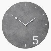 Ρολόι EIVIN Ø30cm με πέτρινη όψη