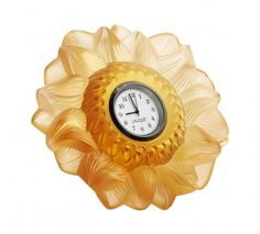 Amber sun clock, Rene Lalique