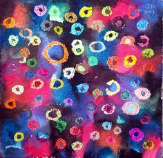 72 colors for Yayoi Kusama
