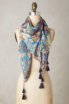 A great scarf choice for Apple shape. Tassels add distraction, silk is fine enough to not add bulk. Position tassels to lead eye to your best features. Apple Shape Fashion, Paz Interior, Sleeve Designs, Womens Scarves, Plaid Scarf, Designer Dresses, Anthropologie, Girl Fashion, Winter Fashion