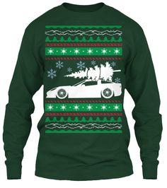 Corvette Ugly Christmas Sweater $10 OFF   Teespring