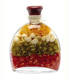 Decorative Vegetable Jars Lute Decorated Vinegar Bottle  Love These  Infusions  Pinterest