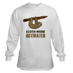 Sloth Mode Long Sleeve T-Shirt