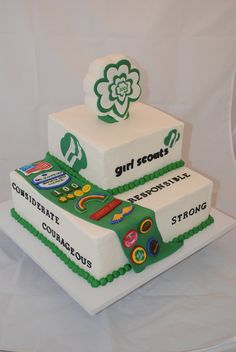 Girl Scout Celebration on Cake Central