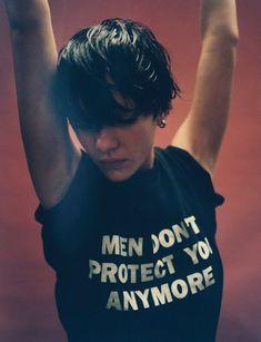 Susannah Liguori shot by Tyrone Leblon for POP FW 2012