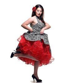 Retro Pin Up Rockabilly Petticoats