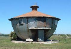 The Kettle House. 1950 Galveston Island, Texas