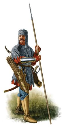 Historical Warrior Illustration Series Part lX Military Art, Military History, Empire Total War, Thirty Years' War, Medieval World, 17th Century, Middle Ages, Illustration, Treasure Chest