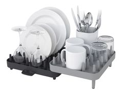 Connect Adjustable 3 Piece Dishrack Set