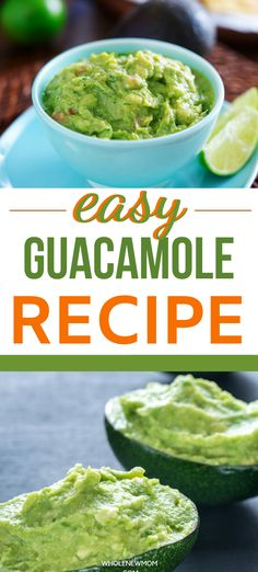 This super tasty, homemade  guacamole recipe is so simple. This Keto and AIP Guacamole Dip is free of nightshades and dairy plus it tastes amazing! It uses just a handful or ingredients and is ready before you can say Guacamole. Keto and Low Carb Friendly! Guacamole Recipe Easy, Homemade Guacamole, Guacamole Dip, Yummy Healthy Snacks, Healthy Dinner Recipes, Diabetic Recipes, Autoimmun Paleo, Keto, Easy Meals