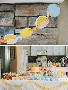 a breakfast buffet birthday