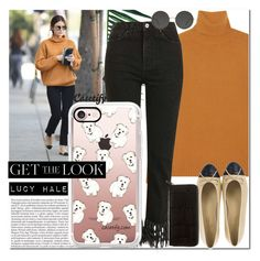 """""""GET THE LOOK   CASETIFY"""" by yagmur ❤ liked on Polyvore featuring Chloé, Nika, Topshop, Casetify, Liebeskind and Ace"""