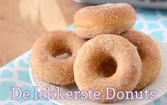 Dit is 'm: het recept voor de lekkerste donuts ever! Je maakt ze gemakkelijk zelf door de stappen te volgen. Wie verras jij met deze heerlijke donuts?