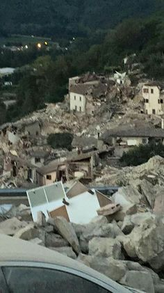 The earthquake in Italy,my second home!24/08/2016