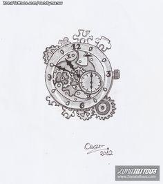 Worksheet. reloj de bolsillo dibujo a lapiz  Buscar con Google  Dibujo