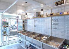 Little Catch fishmonger in Shanghai by Linehouse Design #menuboard #slider